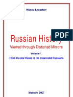 """Russian History Viewed through Distorted Mirrors"" by N.V.Levashov"