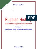 """Russian History Viewed through Distorted Mirrors"" by N.V.Levashov"