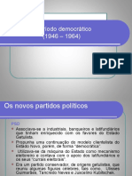 O Periodo Democratico (1946-1964)