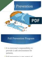 Fall Prevention Presentation1