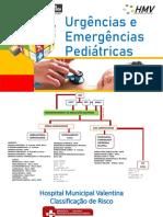 Urgências e Emergências Pediátricas- HMV