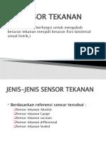 SENSOR TEKANAN Presentasi