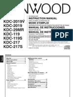 Kenwood car radio manual