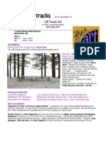 Tracks...an E-newsletter of Off Track Art - an artists' cooperative gallery – for April-May 2011