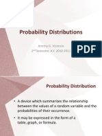 Lesson 5 - Probability Distributions