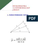 10 Rumus Matematika Disertai Contoh Soal Dan Penyelesaiannya