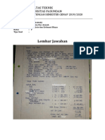 Jawaban UTS Analisis Estimasi Biaya