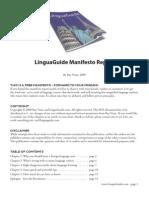 LinguaGuide-Manifesto