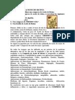 COMPRESA DE ACEITE DE RICINO