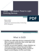 OLED – The Modern Trend in Light Emitting1