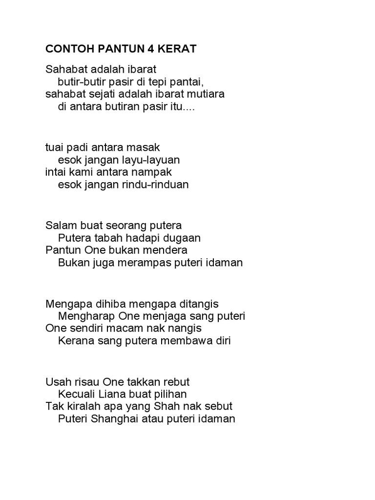 Image Result For Contoh Pantun Nasihat