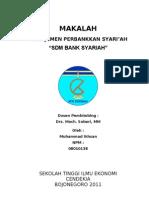 MAKALAH manajemen perbankan syariah, SDM