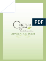 Application Form - Centrum Park, Gurgaon