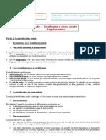Fiche 1 stratification sociale du chapitre conflits et mobilisation sociale 2010 2011