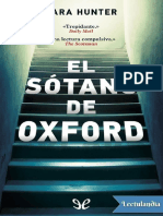 El Sotano de Oxford - Cara Hunter