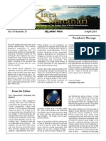 RCBKS Bulletin Vol 19 No 31