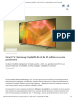Smart TV_ Samsung Crystal UHD 4K da 55 pollici ora costa pochissimo _ Libero Tecnologia