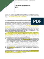 Qualitative Inhaltsanalyse 4. Materialien Zu Einer Qualitativen Inhaltsanalyse