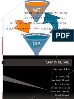 CRM IN RETAIL