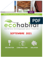 ECOHABITAT catalogue 2021 MAJ SEPT2021