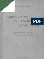 Agrarianism, Capitalism, Imperialism
