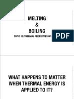 11 Melting & Boiling