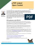 customizing pdf output