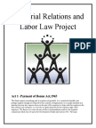Industrial Relations and Labour Law
