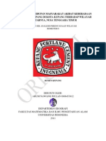 Perubahan Kehidupan Masy. Kupang, NTT; Growth Centre - Arum N. W. 0806453812