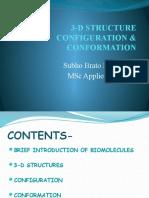 3-d Structure Configuration & Conformation