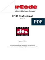 SurCode DTS DVD Pro Manual