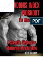 THE MUSCLE INDEX