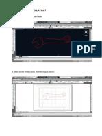 Impressão no CAD