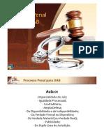 curso online unieducar processo penal oab