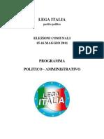 elezioni - programmaLAGRECA