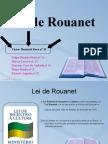 Lei de Rouanet