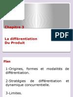 chapitre 3 différentiation produit