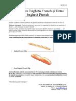 Rechemare Baghete French Auchan 08.10.2021