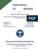INDUSTRIAL TRAINING REPORT