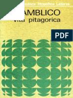 Giamblico, - Vita Pitagorica.