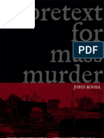 John Roosa - Pretext for Mass Murder the September 30th Movement and Suharto's Coup d'Etat n Indonesia