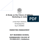 A Study on the Future of Affiliate Marketing in India