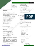 Algebra02 ECUACIONES RESUELTOS