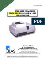 CILAS User Manual