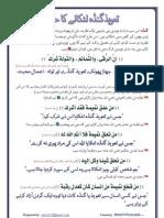 Urdu Pamphlet - Taweez Gandey Latkaana