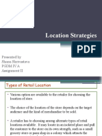 Types of Retail Location