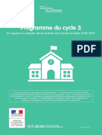 Cycle 3 Programme Consolide 1038202