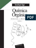 Seyhan Ege - Química Orgánica. Estructura y Reactividad. Tomo 2-Editorial Reverté (2018)