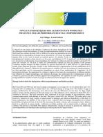 Influence du niveau énergétique sur les performances des pondeuses JRA 2005