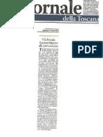 Il Giornale Della Toscana - 17 04 2011 - Concorso Letterario Villa Petriolo Wine on the Road